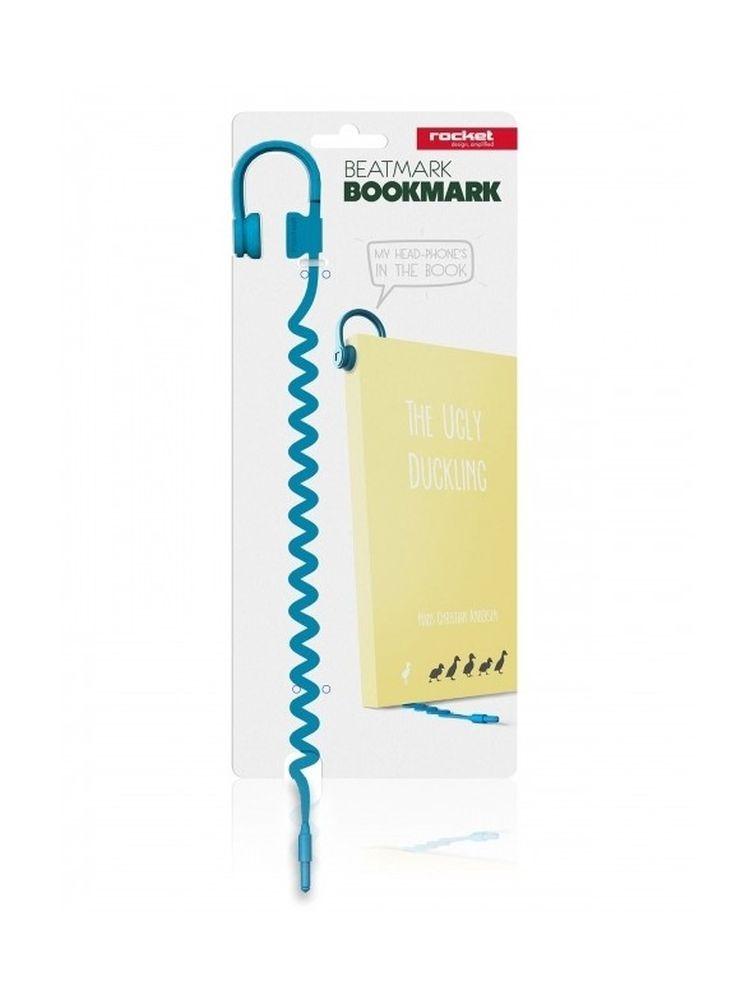 Beatmark - Bookmark (Blue): Stationery
