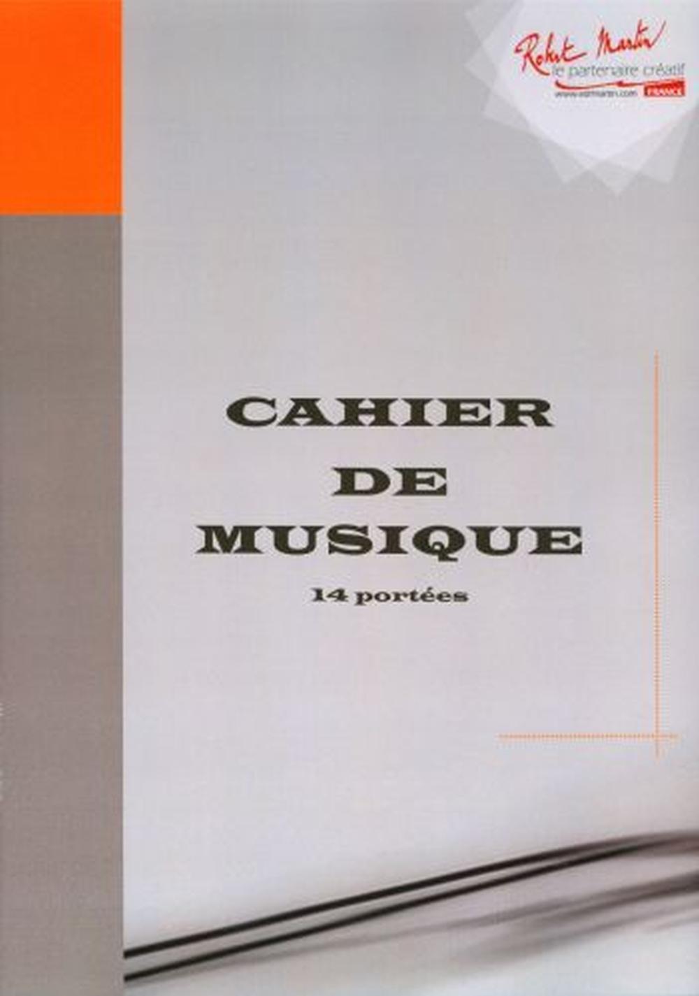 Cahier De Musique: Manuscript