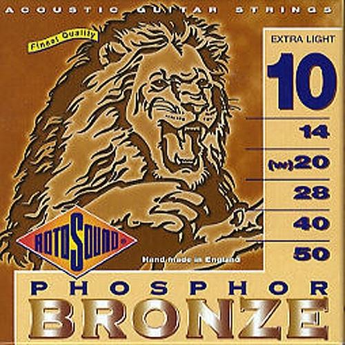 Jumbo King Phosphor Bronze Guitar Strings 10-50: Strings