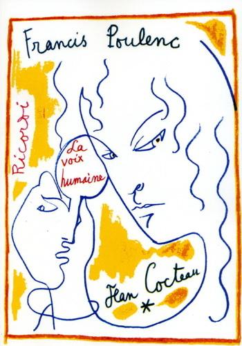 Francis Poulenc: La Voix Humaine - Voice & Piano: Soprano: Vocal Score
