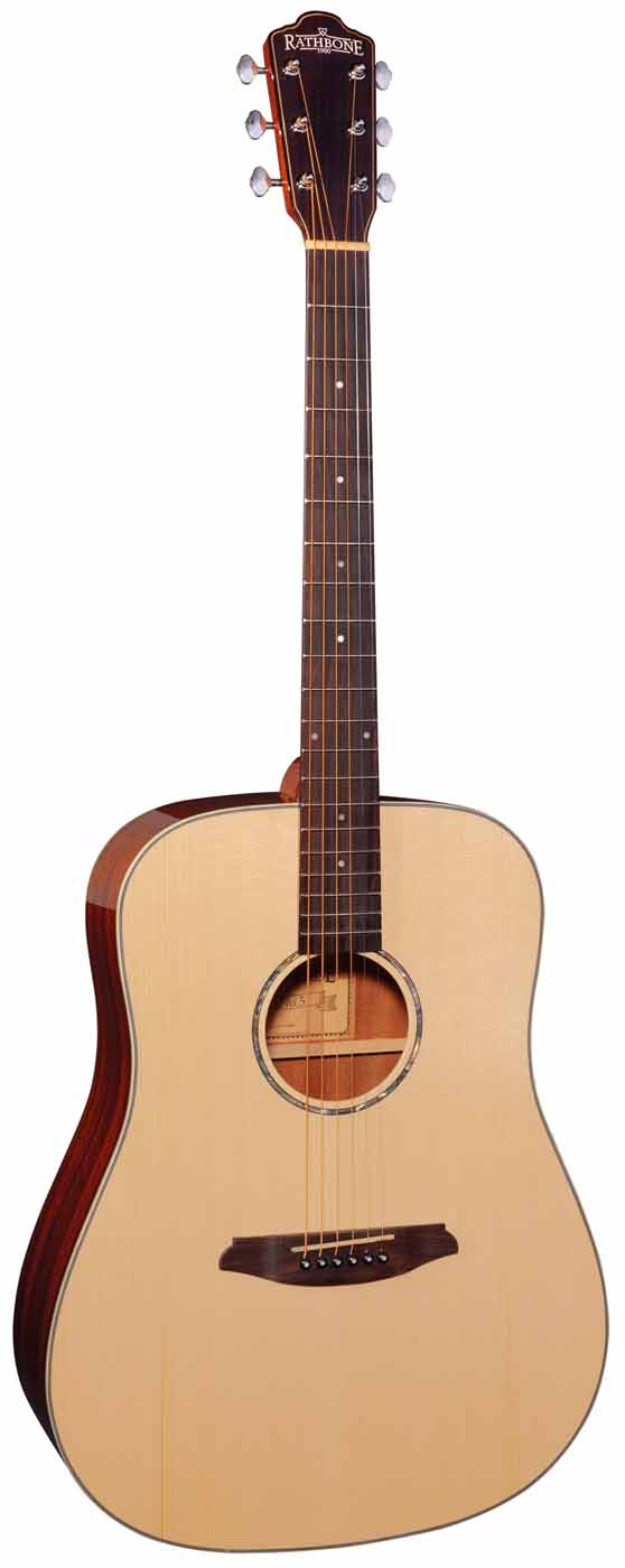 No. 5 Carbon Fibre Double Top Acoustic: Acoustic Guitar