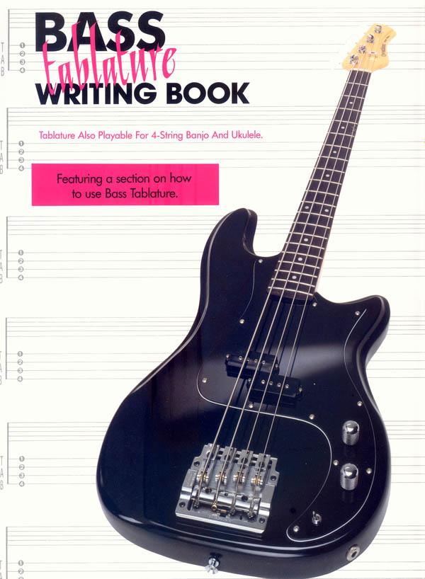Bass Tablature Writing Book: Manuscript