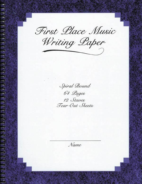 Music Writing Paper: Manuscript