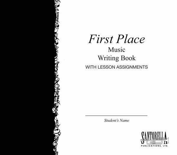 First Place Music Writing Book: Manuscript