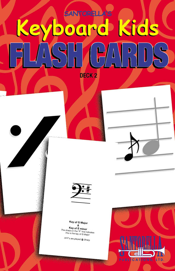 Keyboard Kids Flash Cards Deck 2 Vol. 2
