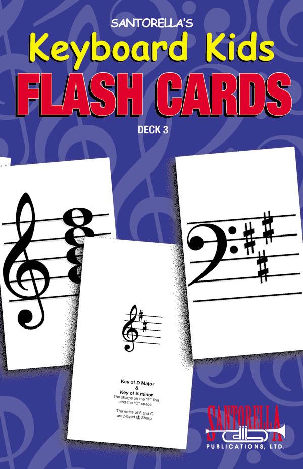 Keyboard Kids Flash Cards Deck 3 Vol. 3
