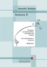 Annette Schluenz: Arianna II: Soprano: Vocal Work