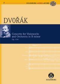 Antonín Dvořák: Cello Concerto: Cello: Miniature Score