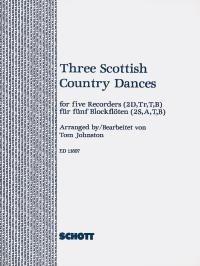 3 Scottish Country Dances: Recorder Ensemble: Score and Parts