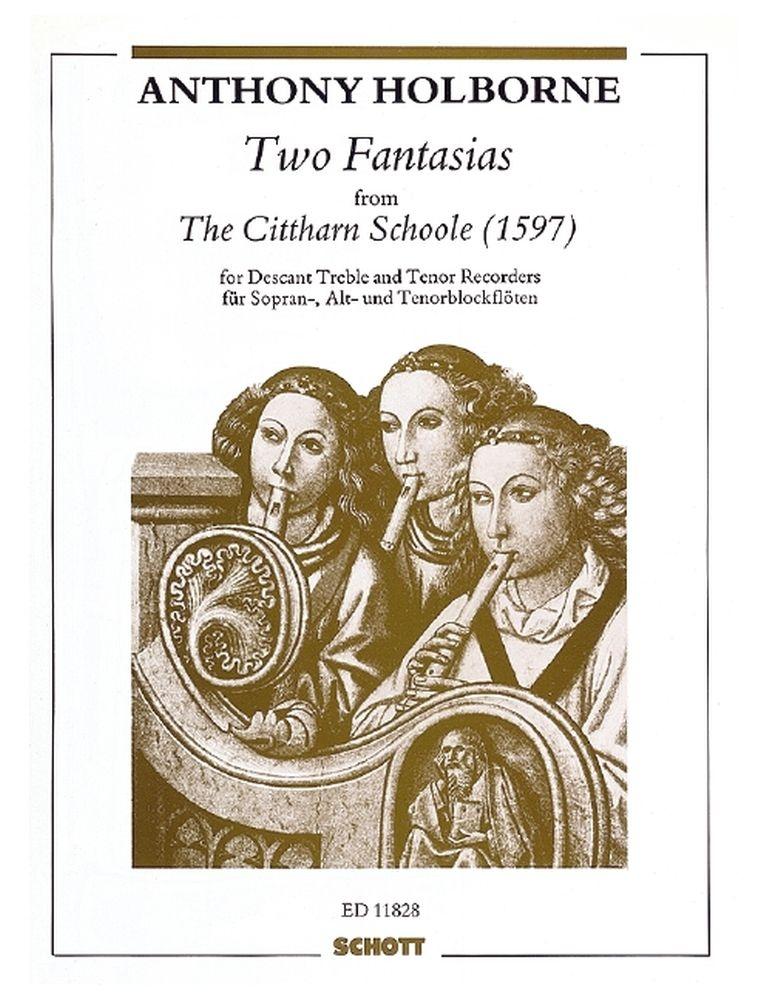 Anthony Holborne: 2 Fantasia: Recorder Ensemble: Instrumental Work