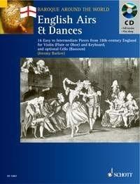 Baroque Around The World English: Violin: Score and Parts
