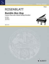 Alexander Rosenblatt: Bumble-Bee-Bop: Piano: Score
