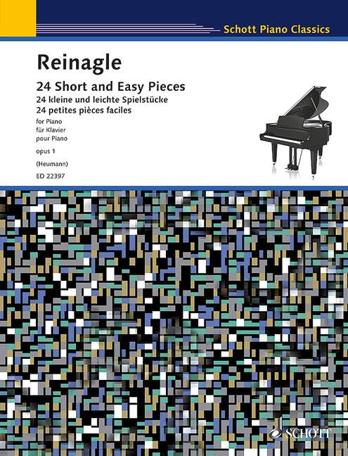 Alexander Reinagle: 24 Short and Easy Pieces: Piano: Instrumental Work