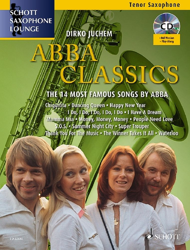 Abba Classics: Tenor Saxophone: Score