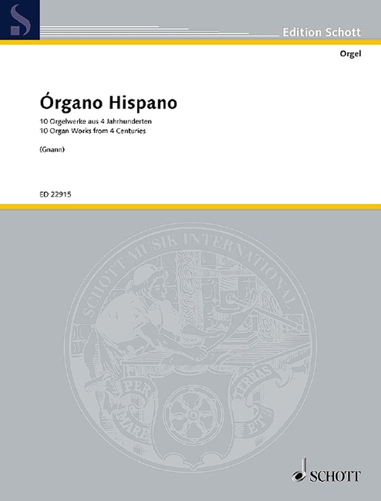 Órgano Hispano: Organ: Instrumental Work