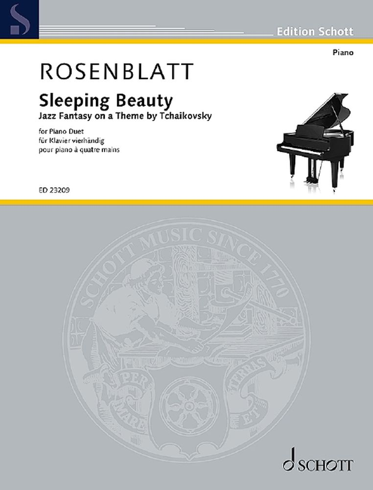 Alexander Rosenblatt: Sleeping Beauty: Piano Duet: Instrumental Work