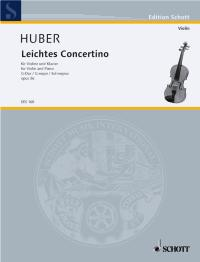 Adolf Huber: Concertino Facile Sol Op. 36: Viola: Instrumental Work