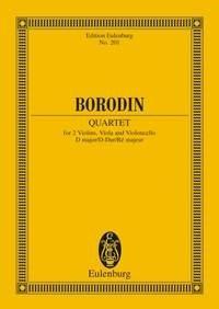 Alexander Porfiryevich Borodin: Streichquartet 2 D: String Quartet: Miniature