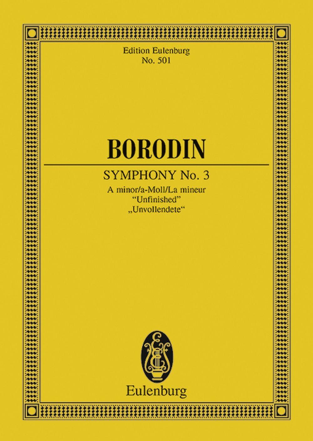 Alexander Porfiryevich Borodin: Symphony No.2 In B Minor: Orchestra: Miniature