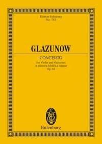 Alexander Glazunov: Trois Miniatures Op.42 - No.1: Orchestra: Miniature Score