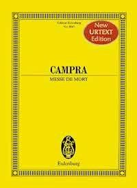 André Campra: Messe de Mort: SATB: Miniature Score