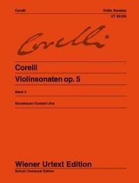 Arcangelo Corelli: Sonate Per Violino E Pianoforte Op. 5: Violin: Instrumental