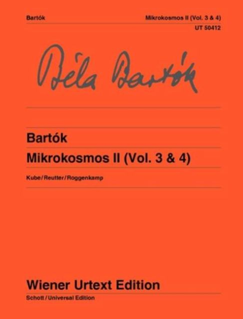 Béla Bartók: Mikrokosmos Band 2 (Vol. 3 & 4): Piano: Instrumental Collection