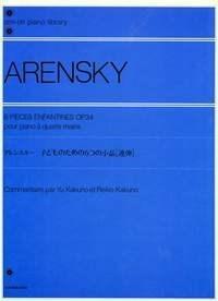 Anton Stepanovich Arensky: Six Children