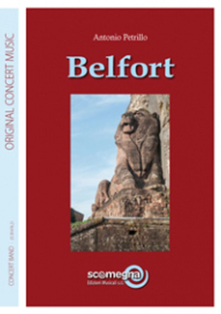 Antonio Petrillo: Belfort: Concert Band: Score and Parts