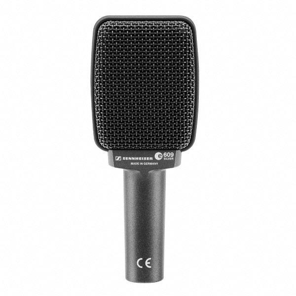 E609 Instrument Microphone Silver: Microphone