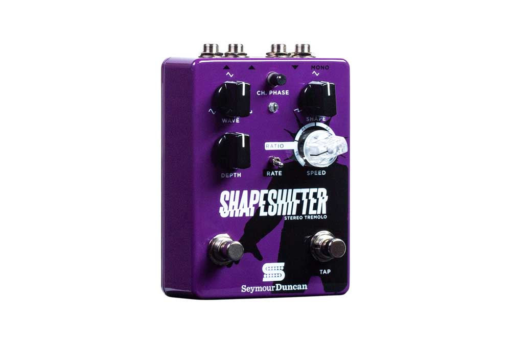 Shape Shifter Stereo Tremolo Pedal: Pedal