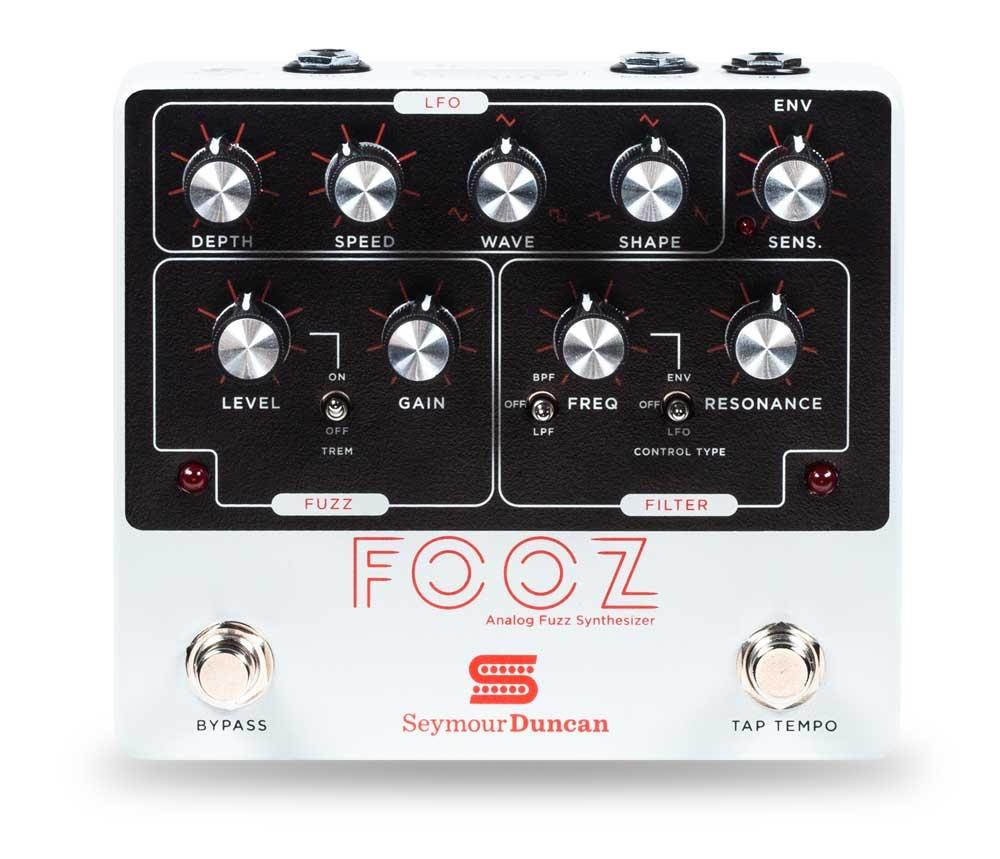 Fooz Analog Fuzz Synth Pedal: Pedal