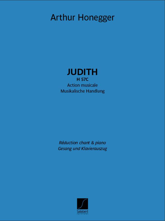 Arthur Honegger: Judith H 57C: Vocal: Vocal Score