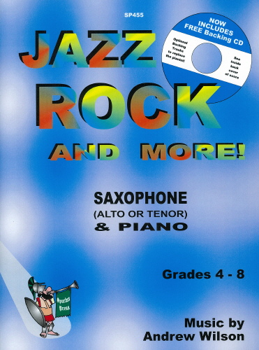 A. Wilson: Jazz Rock & More: Saxophone: Instrumental Album