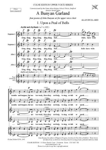 Alan Bullard: A Bunyan Garland: Upper Voices: Vocal Score