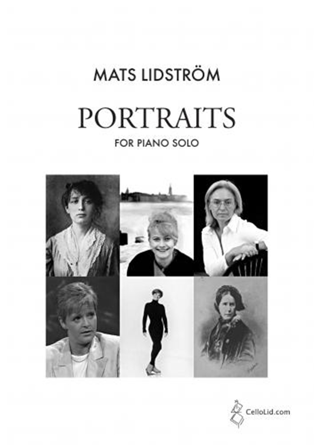 Mats Lidström: Portraits For Piano Solo: Piano: Instrumental Album