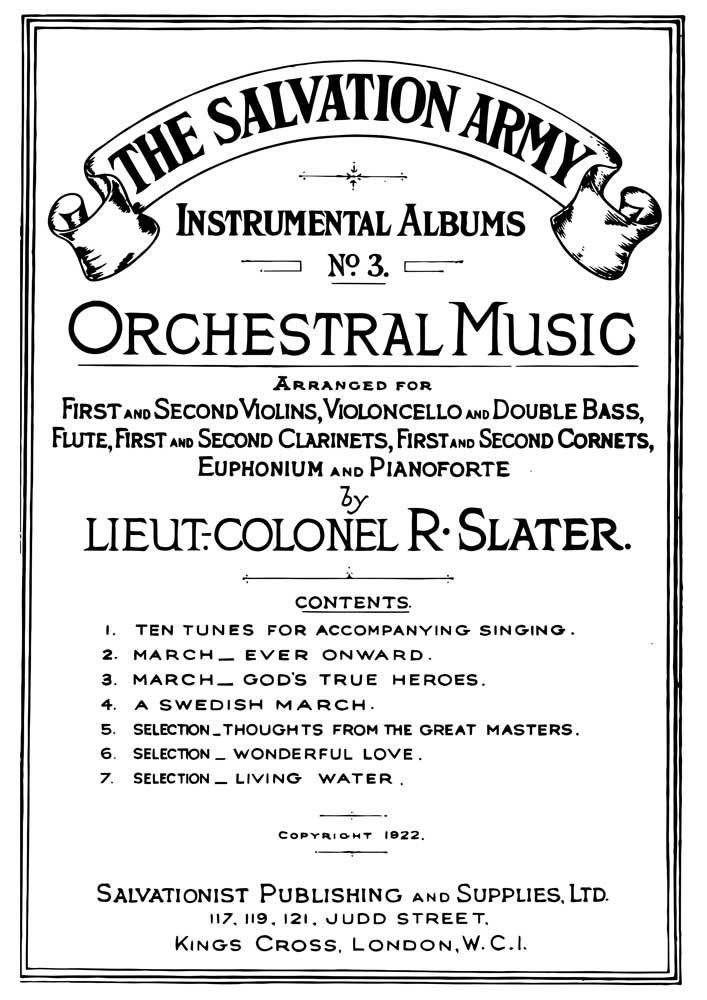 Instrumental Album No. 3: Orchestra: Score and Parts