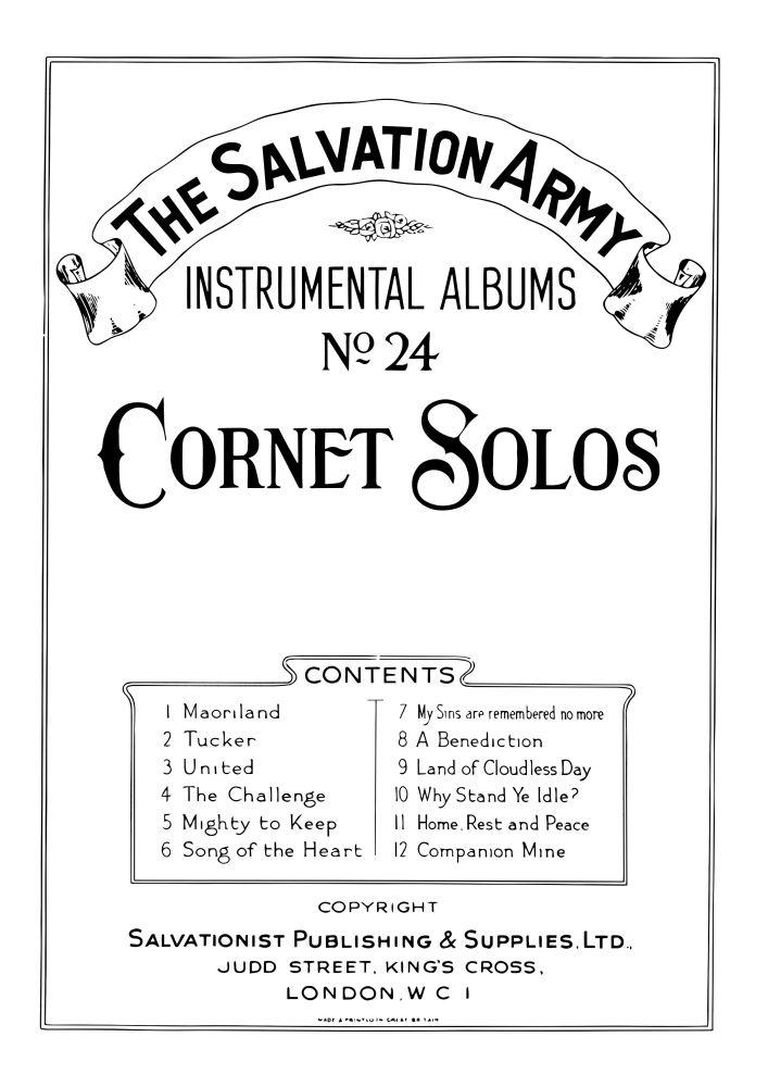 Instrumental Album No. 24: Cornet: Instrumental Album