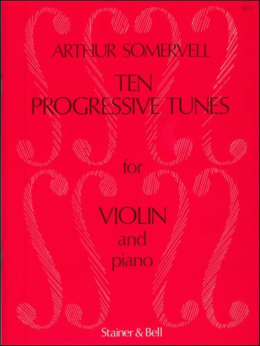 10 Progressive Tunes From The School Of Melody: Violin: Instrumental Album