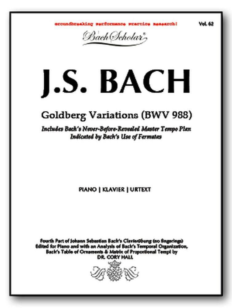 Johann Sebastian Bach: Goldberg Variations: Piano: Instrumental Album