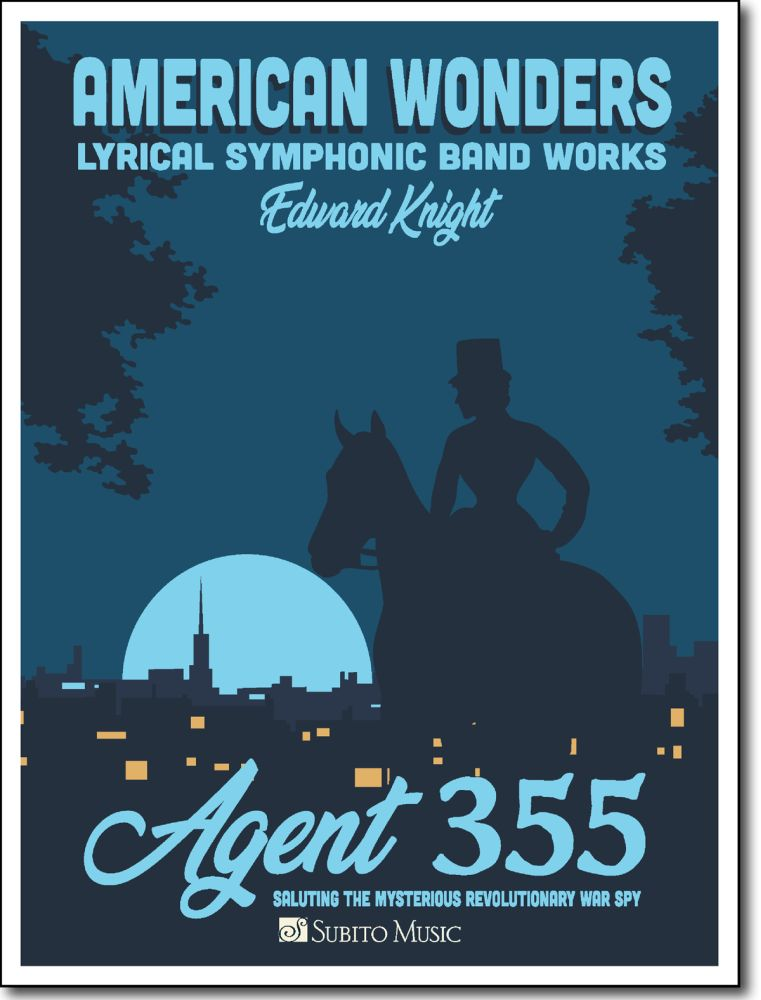 Edward Knight: Agent 355: Concert Band: Score