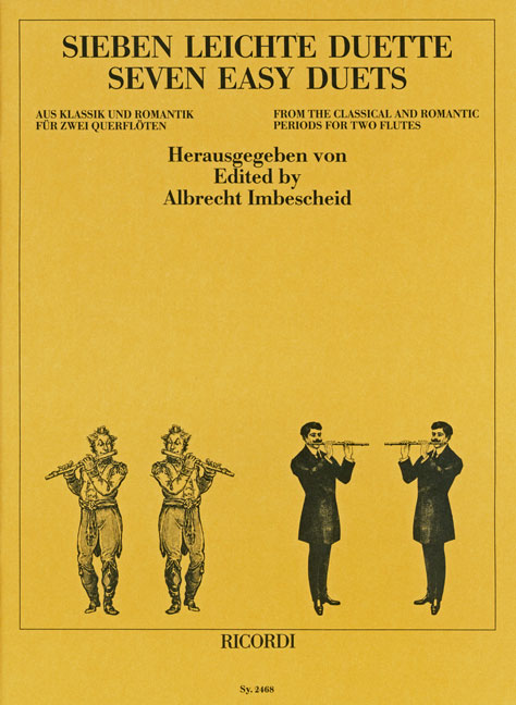 Albrecht Imbescheid: 7 leichte Duette aus Klassik und Romantik: Flute Duet:
