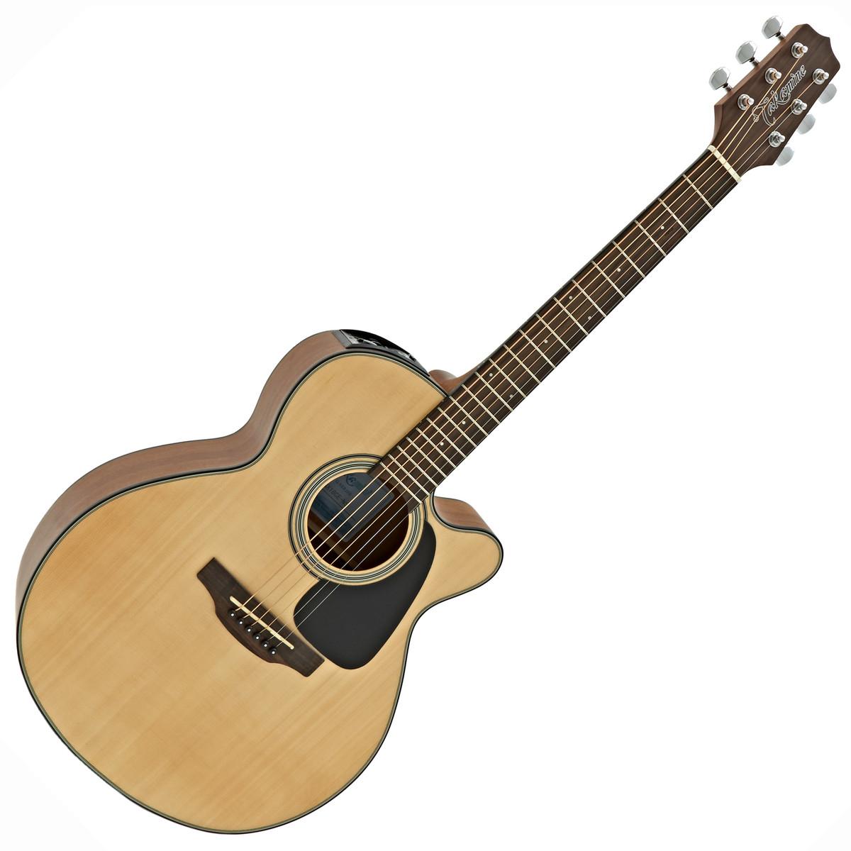 GX18CE Taka-Mini Electro Acoustic Guitar Natural: Acoustic Guitar