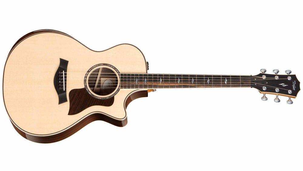 Taylor: 812ce Dlx Electro Acoustic Guitar: Acoustic Guitar