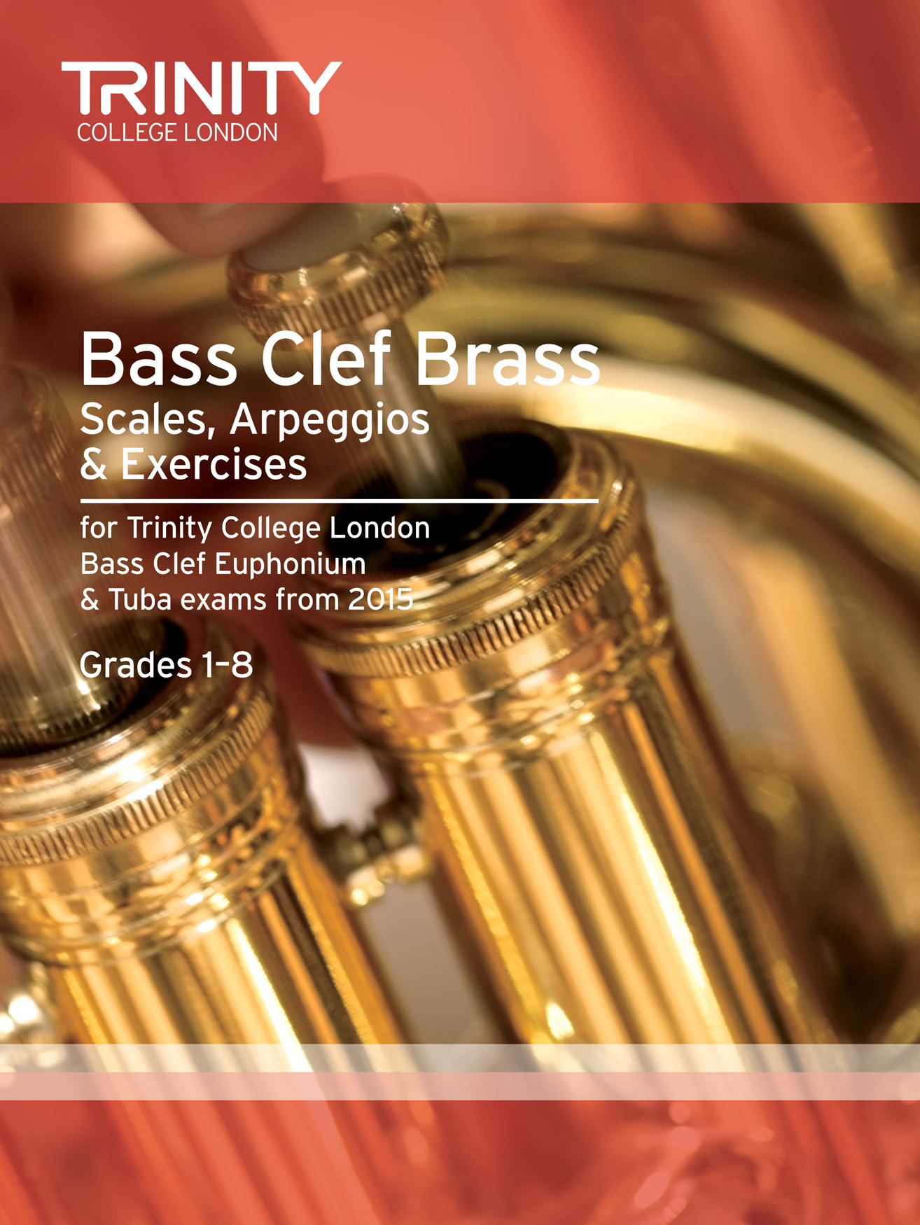 Bass Clef Scales Arpeggios & Exercises Grades 1-8: Bass Clef Instrument: