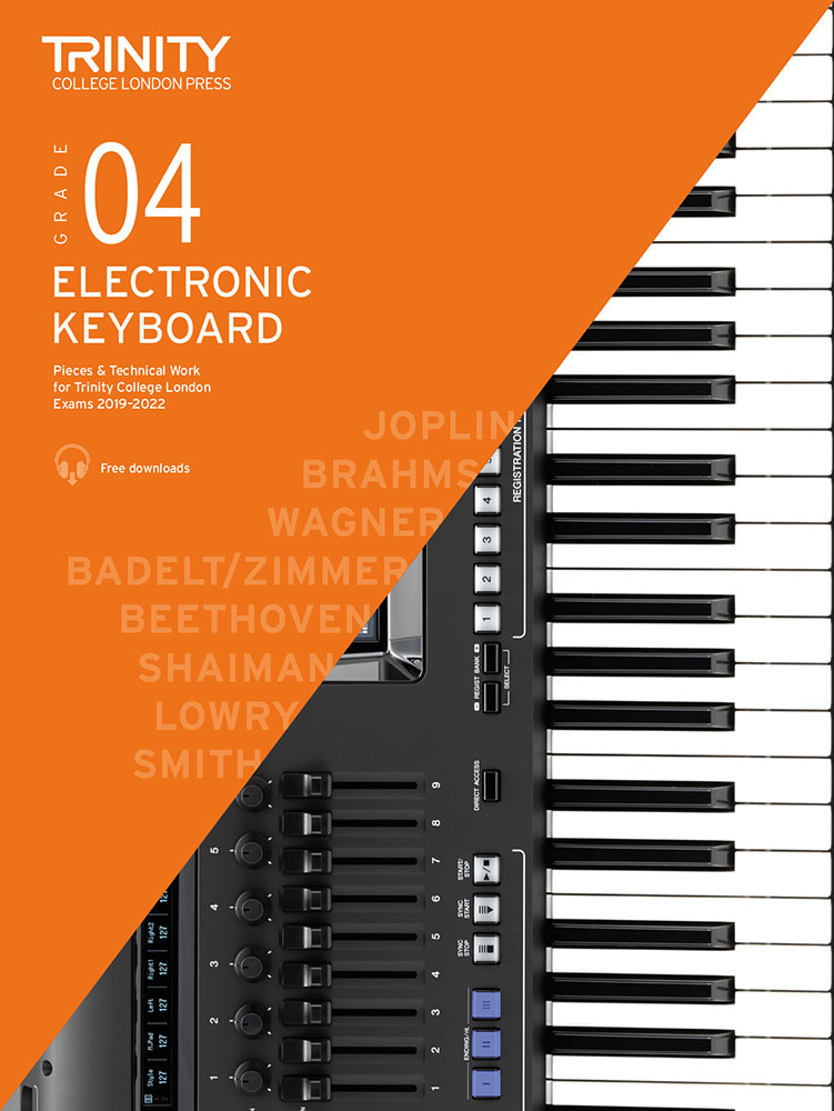 Andrew Smith: Grade 4 Electronic Keyboard Exam Pieces 2019-2022: Electric