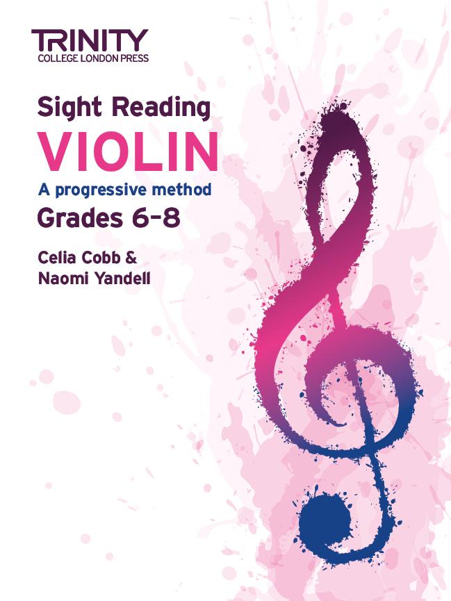 Celia Cobb Naomi Yandell: Sight Reading Violin: Grades 6-8: Violin: Instrumental