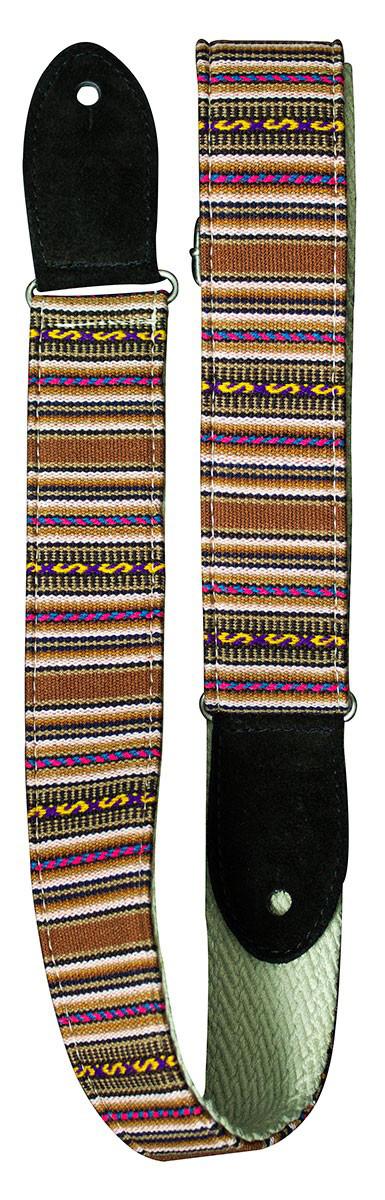 Handcrafted Guitar Strap Inca Rustic: Strap