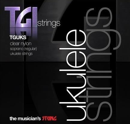 Soprano Ukulele Clear Nylon Strings String Set: Strings