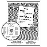 Lennie Niehaus: Basic Jazz Conception For Saxophone Vol. 2: Saxophone: Study